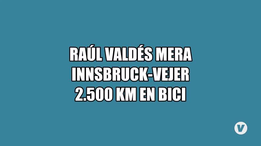 Raúl Valdés, a dos ruedas entre Innsbruck y Vejer