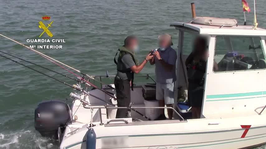 La Guardia Civil hará controles de alcoholemia a patrones de cara a la Sail GP