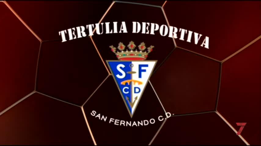El central Sergio Ayala, invitado a la Tertulia Deportiva del San Fernando CD