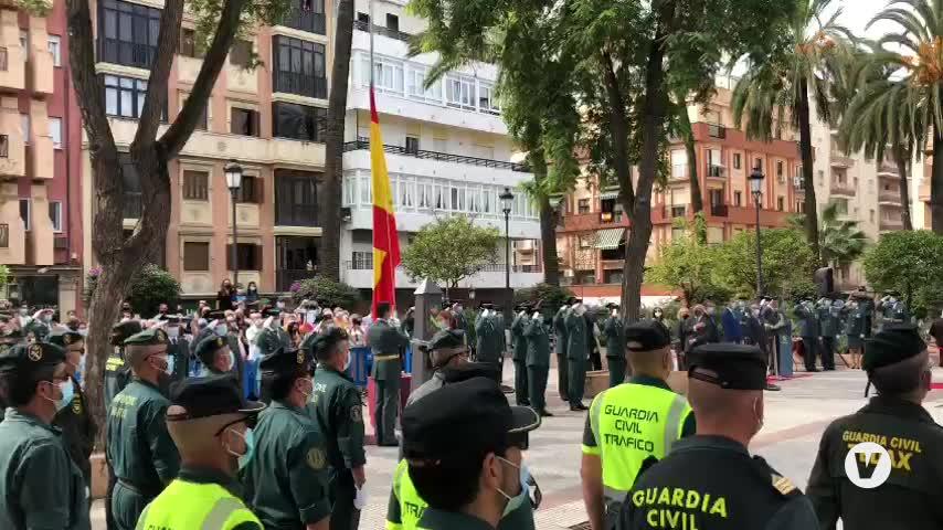 La Guardia Civil, feliz de poder celebrar con los onubenses el día de su patrona