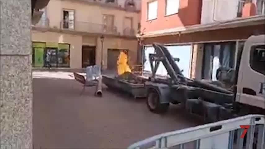 Herido un obrero en La Línea en una deflagración tras perforar una tubería de gas ciudad