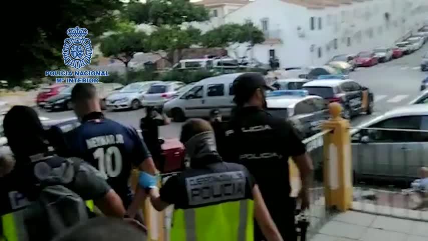 Empleaban un dron para eludir a la Policía en la venta de droga en Estepona