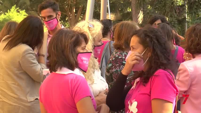 Pilar, superviviente de cáncer de mama y embarazada: