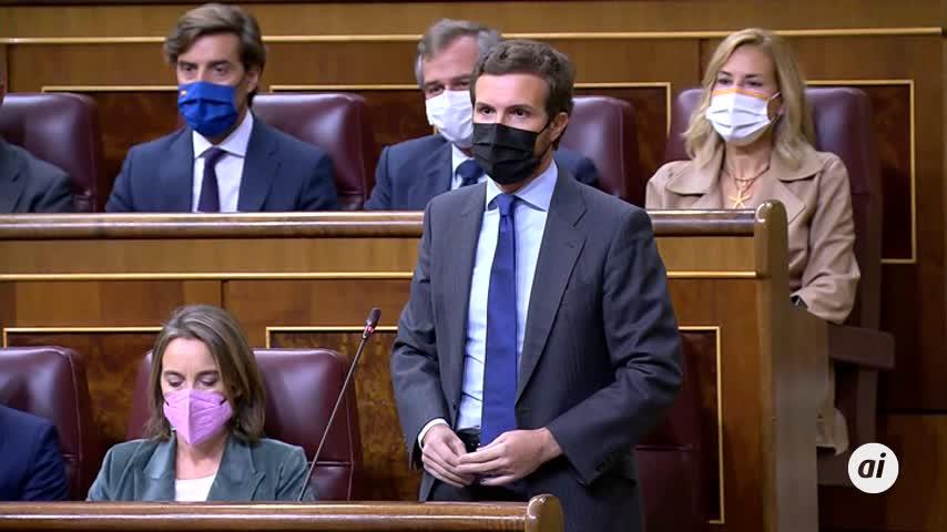 Casado pregunta a Sánchez si sacará de la cárcel a 200 terroristas para los PGE