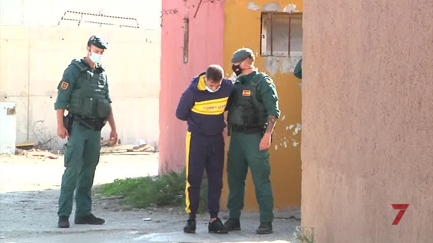 5 detenciones en La Línea, entre ellos El Coco, considerado lugarteniente de Los Castañas