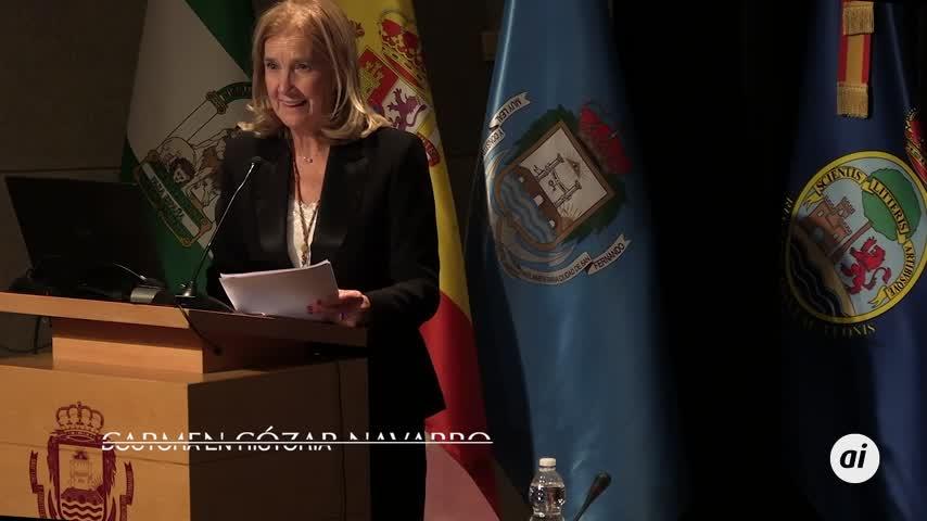 Y Carmen Cózar Navarro demostró cómo Cadiz fue el último reducto de la trata negrera