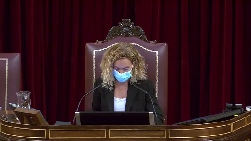 El PSOE respalda a Batet y la oposición pide el cese de Belarra