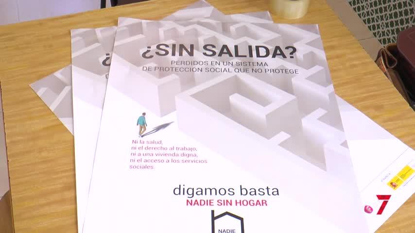 """Yolanda, vivió en las calles de Málaga capital durante unos meses: """"Parecemos invisibles"""""""
