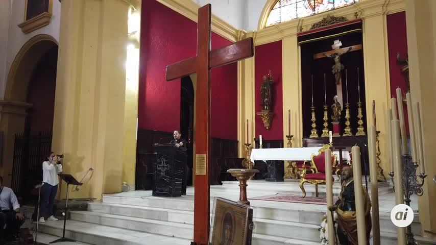 La Cruz y el Icono de las Jornadas Mundiales de la Juventud de Lisboa llegan a la ciudad