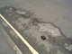Pothole fault reported - 122 Claremont Street, Plymouth PL1 5AF, UK
