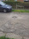 Pothole fault reported - 14 Westhill Avenue, Brackley, Northamptonshire NN13 6AD, UK