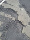 Pothole fault reported - A1066, Thetford, Norfolk IP24 2SP, UK