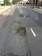 Pothole fault reported - Kitson Way, Harlow, Essex CM20 1LL, UK
