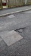 Pothole fault reported - 20 Hargreaves Drive, Rossendale, Lancashire BB4 8SP, UK
