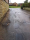 Pothole fault reported - 22-23 Old Town, Brackley, Northamptonshire NN13 7BZ, UK