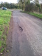 Pothole fault reported - 2 Mixbury Road, Mixbury, Brackley, Oxfordshire NN13 5RL, UK