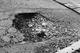 Pothole fault reported - 121 Spring Hills, Harlow, Essex CM20, UK