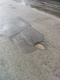 Pothole fault reported - 55 Endcliffe Vale Road, Sheffield, South Yorkshire S10, UK