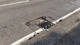 Pothole fault reported - Reading Rd, Blackwater, Camberley, Hampshire GU17, UK