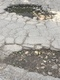 Pothole fault reported - Mossbell Rd, Bellshill, North Lanarkshire ML4 3NW, UK