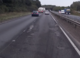 Pothole fault reported - A12, Marks Tey, Colchester, Essex CO6, UK