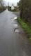 Pothole fault reported - Little Warley Hall Ln, West Horndon, Brentwood, Essex CM13 3EN, UK