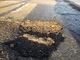 Pothole fault reported - Whitby YO21 3SR, UK