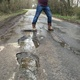Pothole fault reported - Ketche's Ln, Haywards Heath, West Sussex RH17, UK