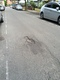 Pothole fault reported - 95 Crewys Rd, London NW2, UK