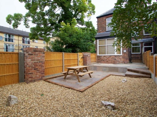 45 Granville Road 6 Bedroom Manchester Student House Garden 1