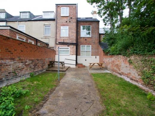 36 Portland Road 5 Bedroom Nottingham Student House Garden