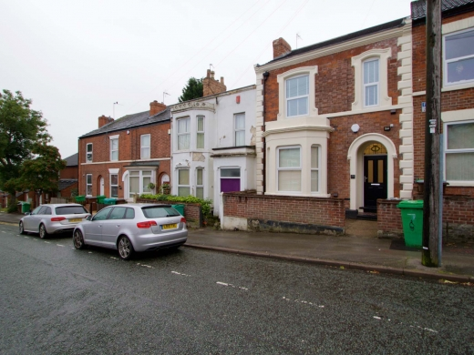 36 Portland Road 5 Bedroom Nottingham Student House Front of House