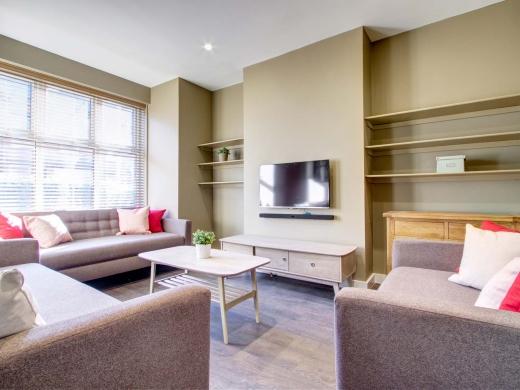 25 Hessle Terrace Leeds Student House Living Room 2