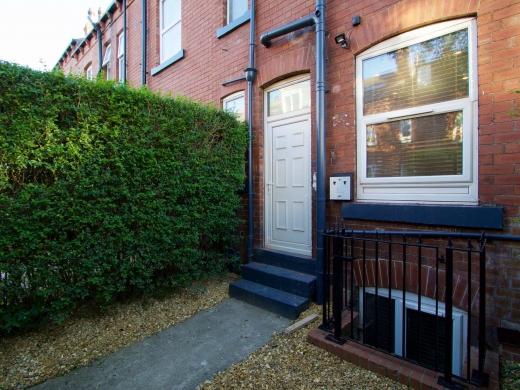 25 Hessle Terrace Leeds Student House Back Door