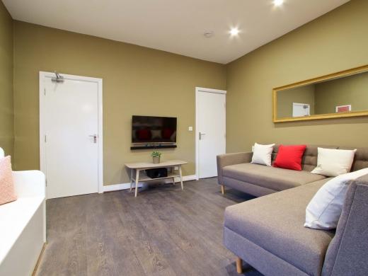 35 Hessle View Street Leeds Student House Living Room 2
