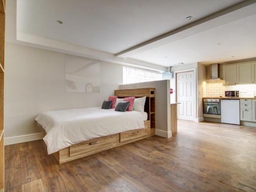 Flat APark View Studio Nottingham Student House Bedroom