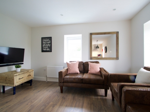Flat C Park View Nottingham Accommodation Living Space 1
