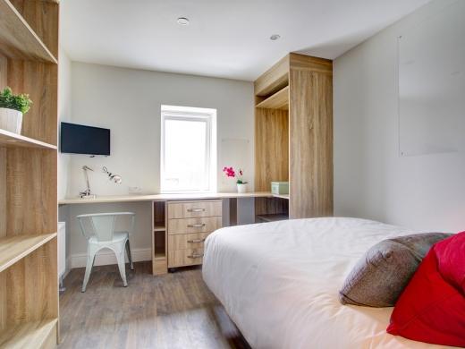 Flat H Park View 7 Bedroom Nottingham Student House Bedroom