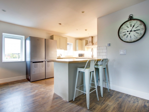 Flat H Park View 7 Bedroom Nottingham Student House Living Space 2