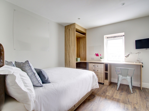 Flat H Park View 7 Bedroom Nottingham Student House Bedroom 4