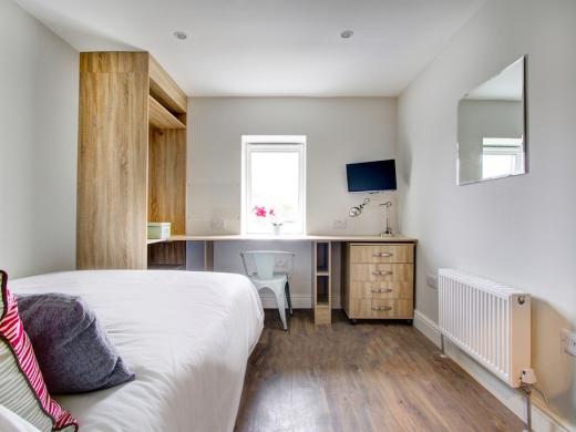 Flat H Park View 7 Bedroom Nottingham Student House Bedroom 3