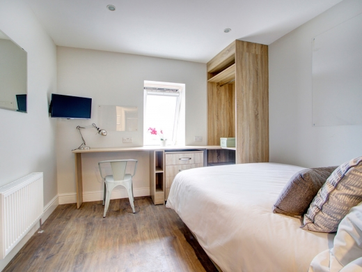 Flat H Park View 7 Bedroom Nottingham Student House Bedroom 6