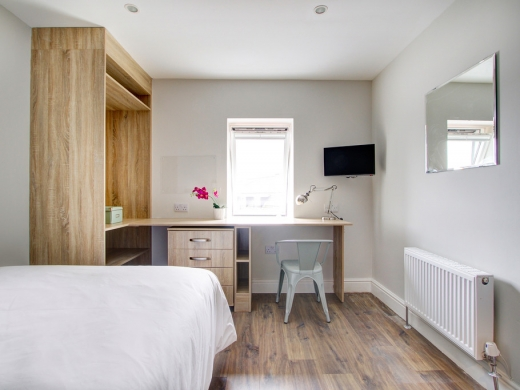 Flat H Park View 7 Bedroom Nottingham Student House Bedroom 5