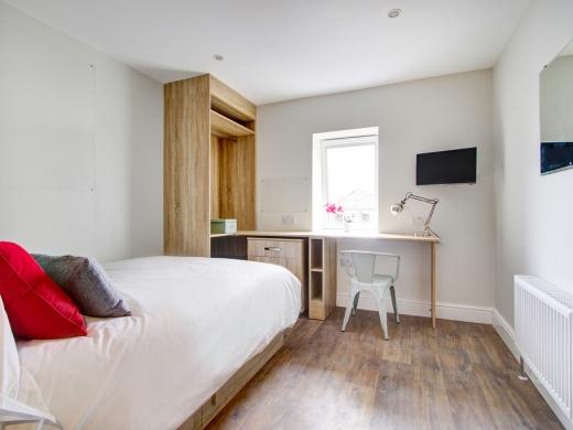Flat IPark View 4 Bedroom Nottingham Student House Bedroom