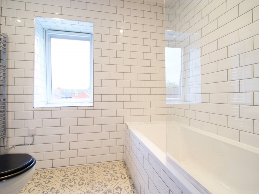 Flat IPark View 4 Bedroom Nottingham Student House Bathroom