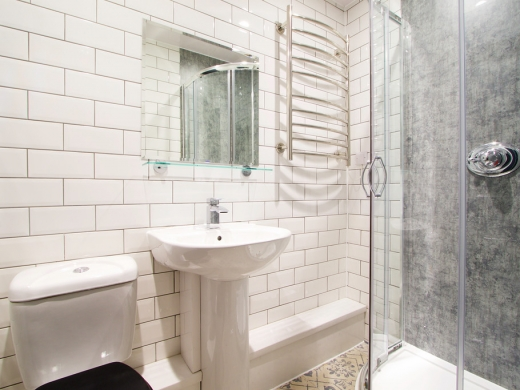 Flat N Park View 3 Bedroom Nottingham Student Accommodation Bathroom