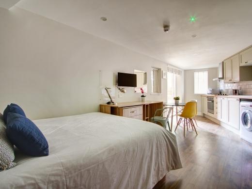 Flat K Park View Peel Street Nottingham Student House Bedroom