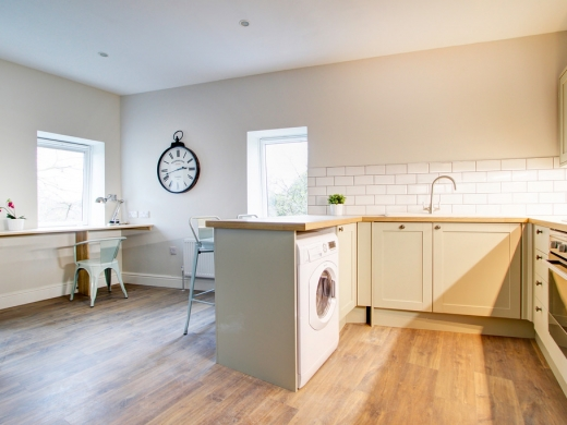 Flat S Park View 1 Bedroom Nottingham Student Accommodation Kitchen