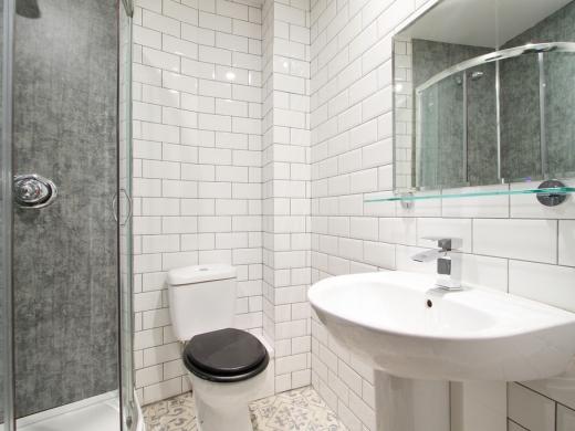 Flat S Park View 1 Bedroom Nottingham Student Accommodation Bathroom