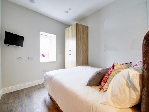 Flat S Park View 1 Bedroom Nottingham Student Accommodation Bedroom